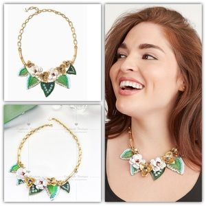 Stella & Dot Camellia Statement Necklace